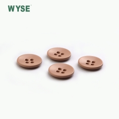 Four hole pink plastic button