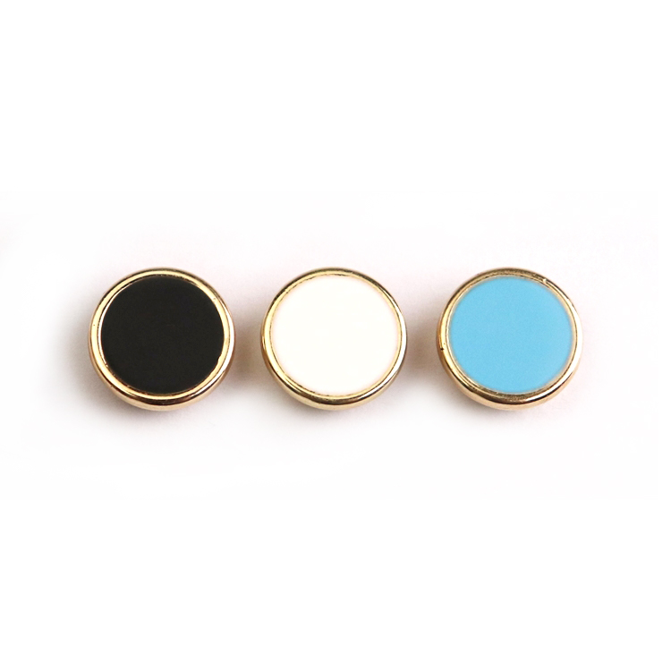 Colorful ABS epoxy customizable shank button