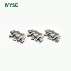 Fancy hot sale custom special animal shape alloy plate