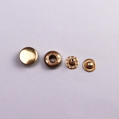 Factory Custom Brass Snap Press Stud Metal Snap Button