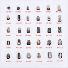 Manufacturers direct high - grade cylindrical bell metal rope conical bell zinc alloy rope stop buckle clasp